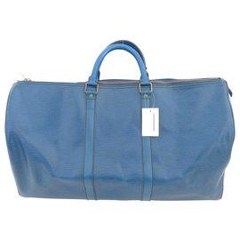 Louis Vuitton-Louis Vuitton Keepall 50-Blue