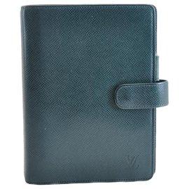 Louis Vuitton-Louis Vuitton Agenda Cover-Navy blue