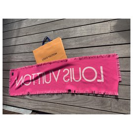 Louis Vuitton-Scarves-Pink