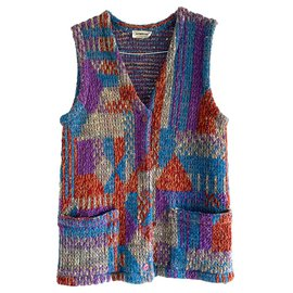 Missoni-Vintage 80s waistcoat-Multiple colors