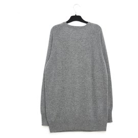 Equipment-oversize grey cashmere fr38/40-Gris