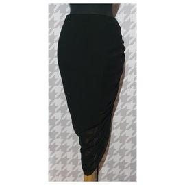Alexander Mcqueen-Skirts-Black
