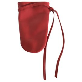 Longchamp-Clutch bags-Red