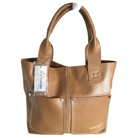 Thierry Mugler-Handbags-Cognac