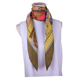 Hermès-chasse exotique-Multicolore