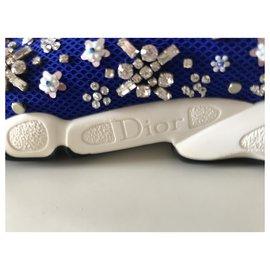 Dior-Sneakers Dior Fusion-Bleu