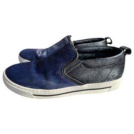 Marc by Marc Jacobs-sneakers-Noir,Bleu