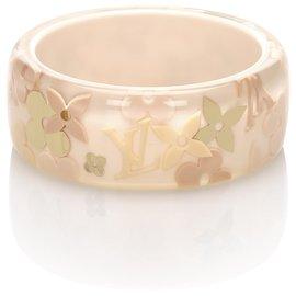 Louis Vuitton-Bracelet Jonc Louis Vuitton Rose Farandole-Rose,Autre
