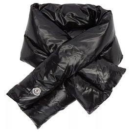 Moncler-Écharpe rembourrée-Noir