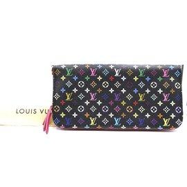 Louis Vuitton-Louis Vuitton Multicolor Monogram Insolite Long Bifold Wallet-Multiple colors