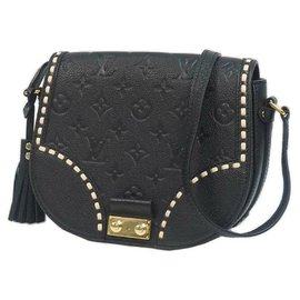 Louis Vuitton-Louis Vuitton Pochette Junot Womens shoulder bag M43143 Noir-Black