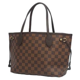 Louis Vuitton-LOUIS VUITTON Neverfull PM Womens tote bag N41359 damier ebene-Damier ebene