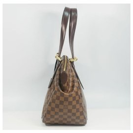 Louis Vuitton-LOUIS VUITTON Verona MM Womens shoulder bag N41118 damier ebene-Damier ebene