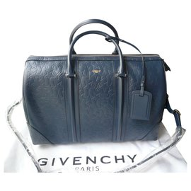 Givenchy-GIVENCHY New blue Bowling bag GM-Blue,Navy blue