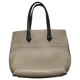 Fendi-All In Shopper Tote-Black,Grey