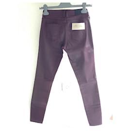 Burberry Brit-jeans-Bordeaux