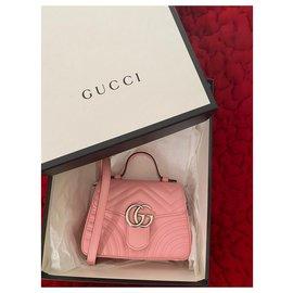 Gucci-GG Marmont mini bag-Pink