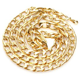 Chanel-Chanel Gold Chain Belt-Golden