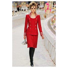 Chanel-8Combinaison K $ Bombay-Rouge