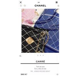 Chanel-Scarves-Cream