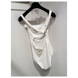 Chanel-Swimwear-White