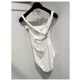 Chanel-Maillots de bain-Blanc