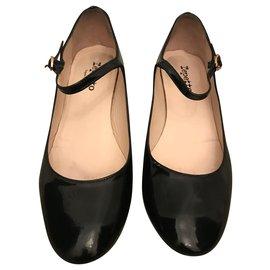 Repetto-Escarpins noirs-Noir