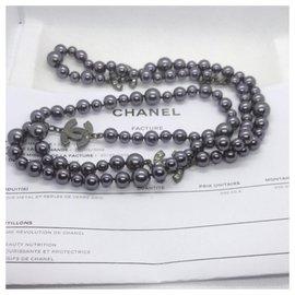 Chanel-Long necklaces-Black
