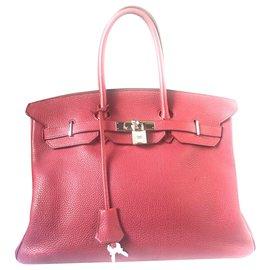 Hermès-Birkin 35-Purple