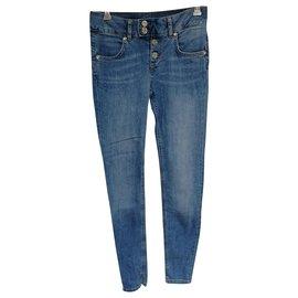 Liu.Jo-jeans slim-Bleu