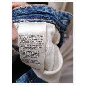 Calvin Klein-jeans slim-Bleu