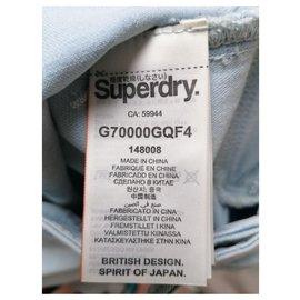 Superdry-jeans slim-Bleu