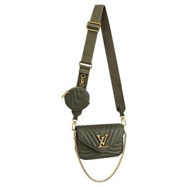 Louis Vuitton-LV new wave multi pochette-Green
