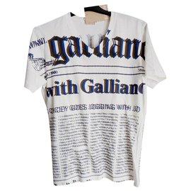 John Galliano-Tees-Beige