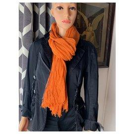 Hermès-Hermès stole-Orange