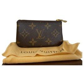 Louis Vuitton-Louis Vuitton key pouch without chain-Brown