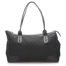 Gucci-Sac cabas en toile Princy de Gucci, noir-Noir