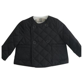 Burberry-Burberry quilted jacket-Black