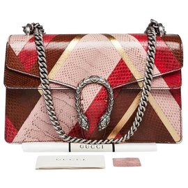 Gucci-small dionysus shoulder bag multicolor Ayers snake-Multiple colors