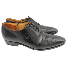 JM Weston-JM WESTON Richelieu color black Size 43 ( 9C)-Black