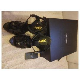 Yves Saint Laurent-Tribute sandal-Black