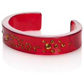 Dior-Bracelet Dior Strass Rouge-Rouge