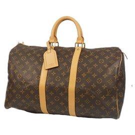 Louis Vuitton-Louis Vuitton Keepall 45 unisex Boston bag M41428-Other