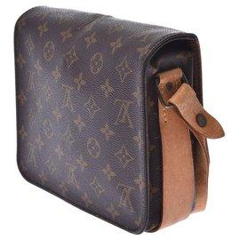 Louis Vuitton-Louis Vuitton Cartouchière-Brown