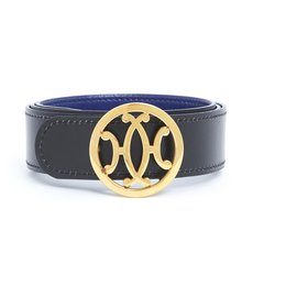 Hermès-TO COMPLETE LIFT T80 BLACK BLUE-Black,Blue,Golden