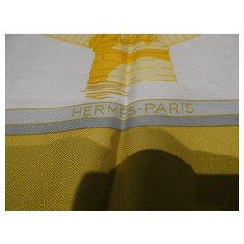 Hermès-hermès square paris bridges 90x90 Vintage-Other