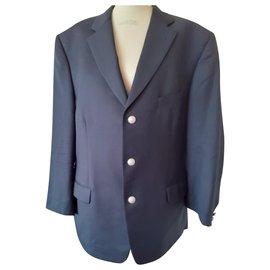 Autre Marque-Blazers Jackets-Navy blue