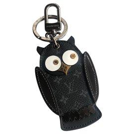Louis Vuitton-Porte-clés LV Owl-Gris