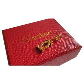 Cartier-CC en or jaunec 750/000-Doré