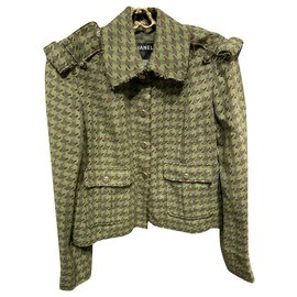 Chanel-Jackets-Brown,Green